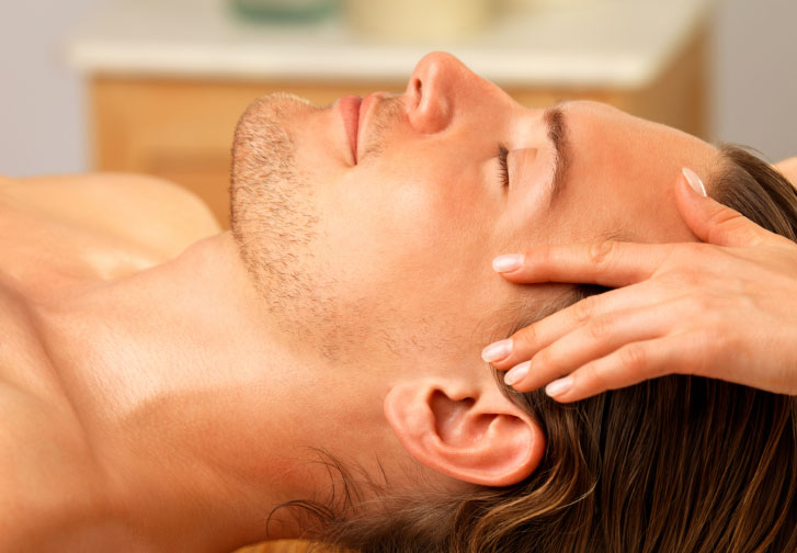 head, neck, face massage