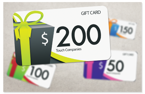 Gift Cards Touch Companies
